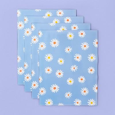 More Than Magic™ Girl Talk 4 Sheets Magnetic Wall Paper - Daisies