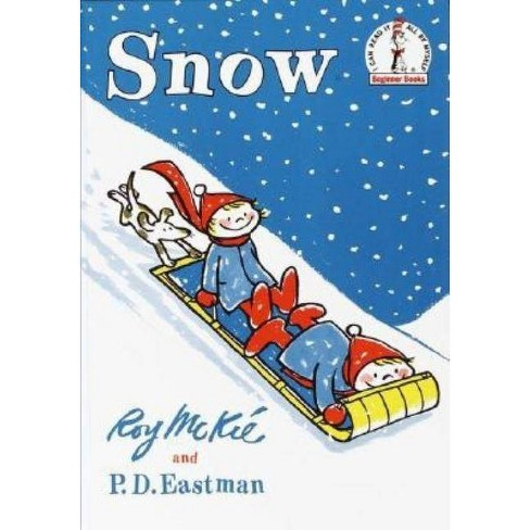 Snow - (I Can Read It All by Myself Beginner Books (Hardcover)) by  P D Eastman (Hardcover) - image 1 of 1