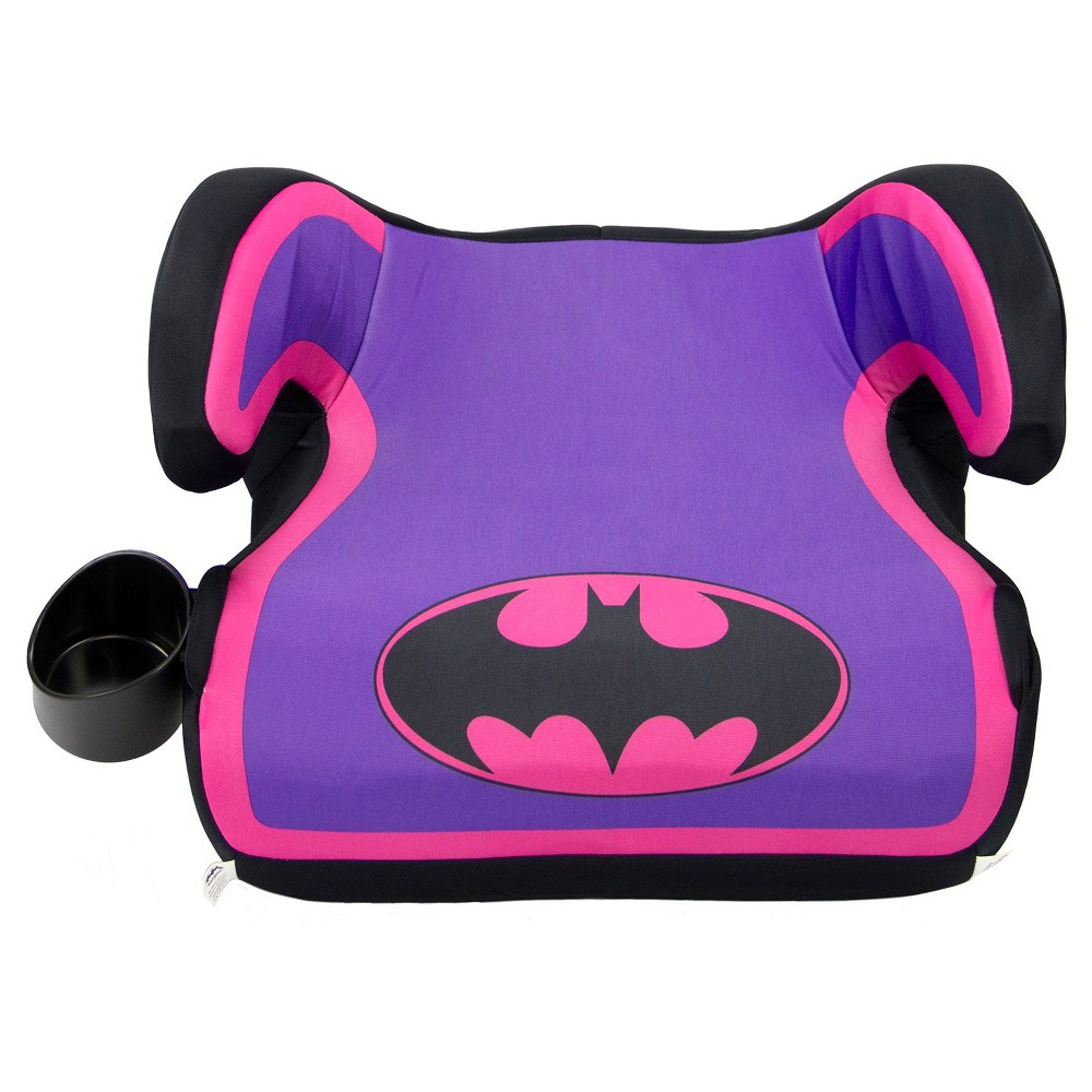 KidsEmbrace DC Comics Batgirl Backless Booster Car Seat, Purple