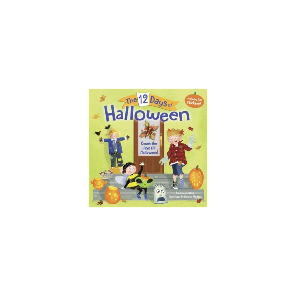 12 Days of Halloween (Paperback) (Jenna Lettice)