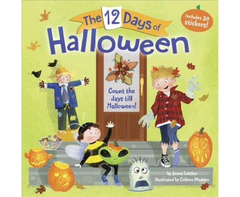 12 Days of Halloween (Paperback) (Jenna Lettice) - image 1 of 1