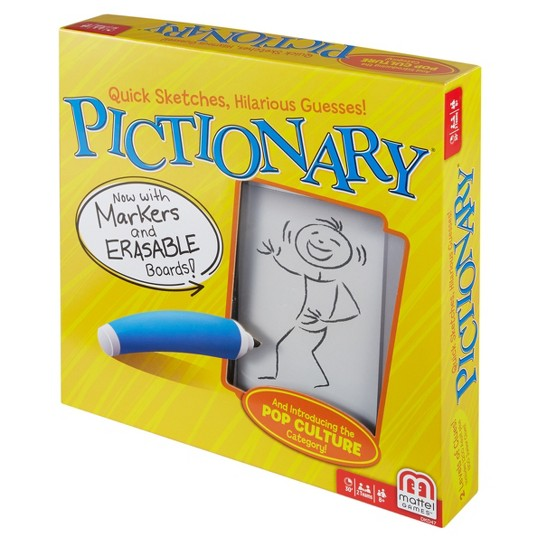 Pictionary Board Game, board games image number null