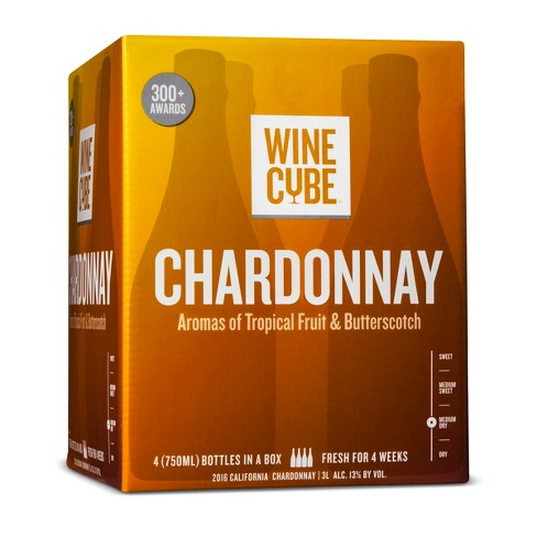 Chardonnay White Wine - 3L Box - Wine Cube™ - image 1 of 2