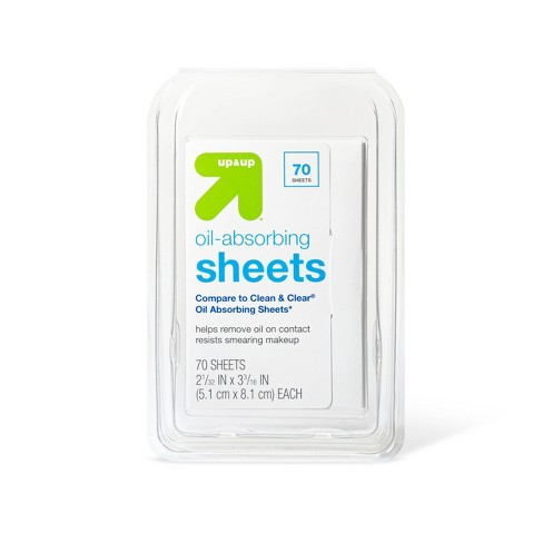 Oil Absorbing Sheets - 70ct - up & up™ - image 1 of 2