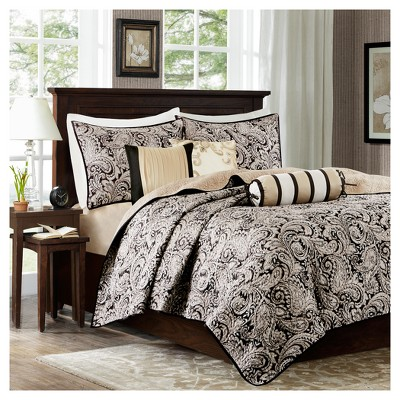 6pc Charlotte Quilted Coverlet Set