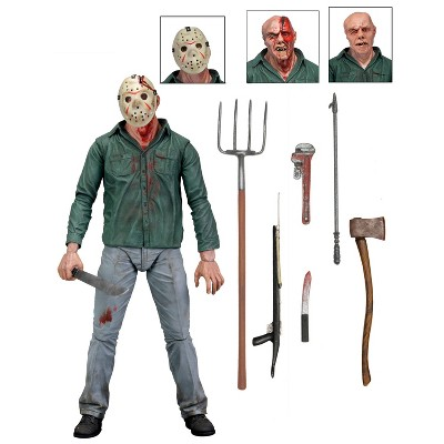 """Friday the 13th Part 3 3D Ultimate Jason Vorhees 7"""" Action Figure & Accessories"""