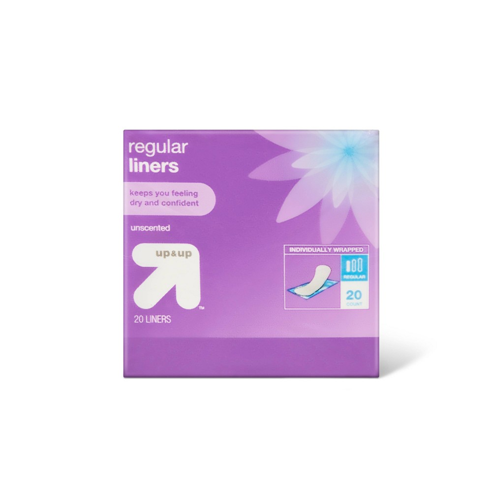 Panty Liners Regular Absorbency 120ct Up 38 Up 8482