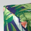 Decorative Pouf DuraSeason Fabric™ Banana Leaf - Threshold™ - image 2 of 2