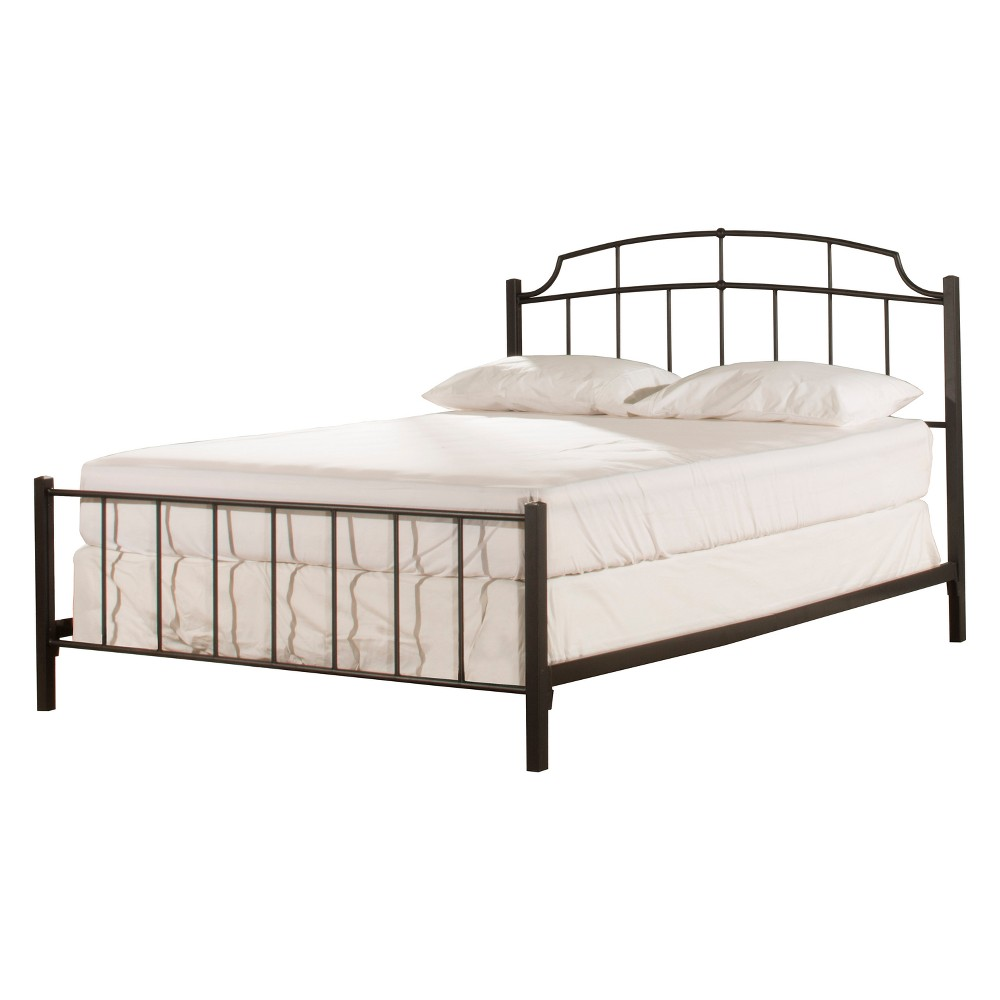 Sheffield Metal Bed in One King Textured Black - Hillsdale Furniture