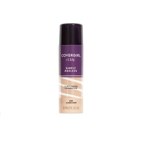 COVERGIRL + Olay Simply Ageless 3-in-1 Foundation 210 Classic Ivory 1 fl oz - image 1 of 3