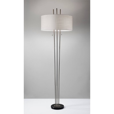 "71"" Anderson Floor Lamp Steel - Adesso"