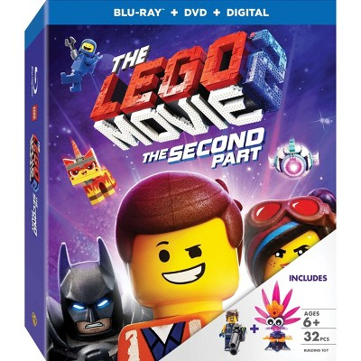 The Lego Movie 2: The Second Part (Target Exclusive)(Blu-Ray + DVD + Digital)