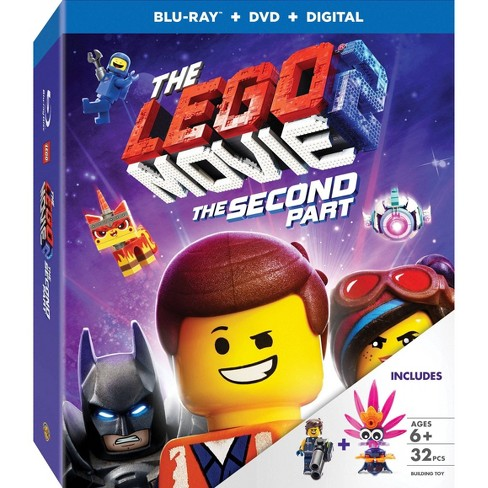 The Lego Movie 2: The Second Part (Target Exclusive) (Blu-Ray + DVD + Digital) - image 1 of 1