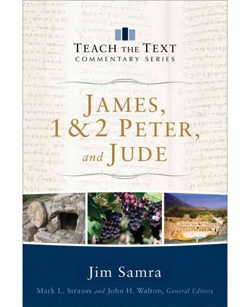 James, 1 & 2 Peter, and Jude (Paperback) (Jim Samra) - image 1 of 1