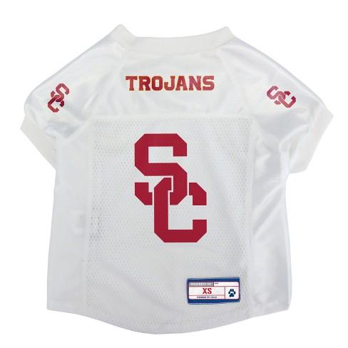 c11e47ce434 USC Trojans Little Earth Pet Football Jersey - S : Target