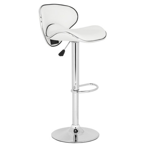 Shambi Adjustable Barstool Steel - Safaveih - Safavieh® - image 1 of 4