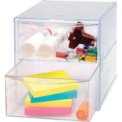 Business Source 2-drawer Storage Organizer