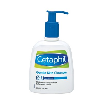 Facial Cleanser: Cetaphil Gentle Skin Cleanser