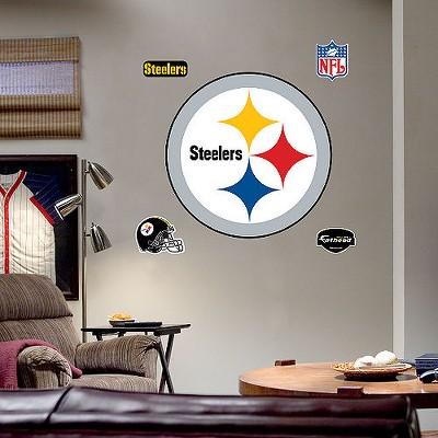 Fathead Pittsburgh Steelers Logo Wall Decor