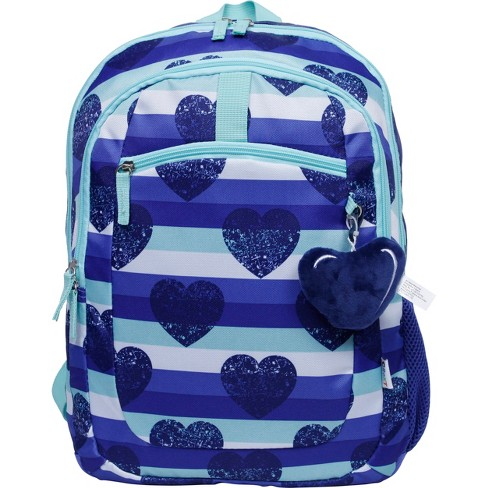 Hearts and Stars Girls Pink Preschool Toddler Childrens Backpack /& Lunch Box Set