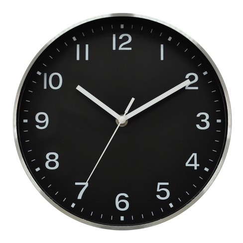 Wall Clocks Black  - Project 62™ - image 1 of 1
