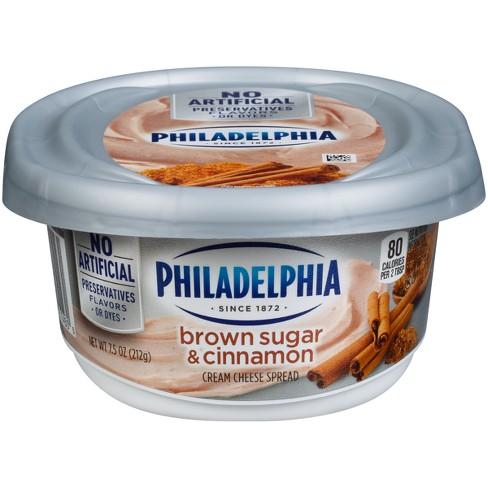 Philadelphia Cream Cheese Brown Sugar & Cinnamon - 7.5oz - image 1 of 4
