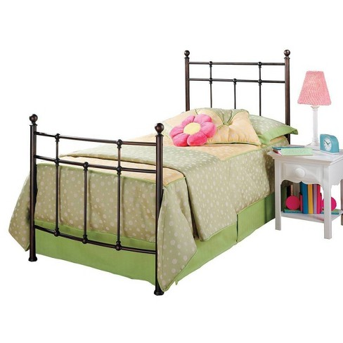 Providence Bed with Rails - Antique Bronze (Twin) - Hillsdale Furniture - image 1 of 4