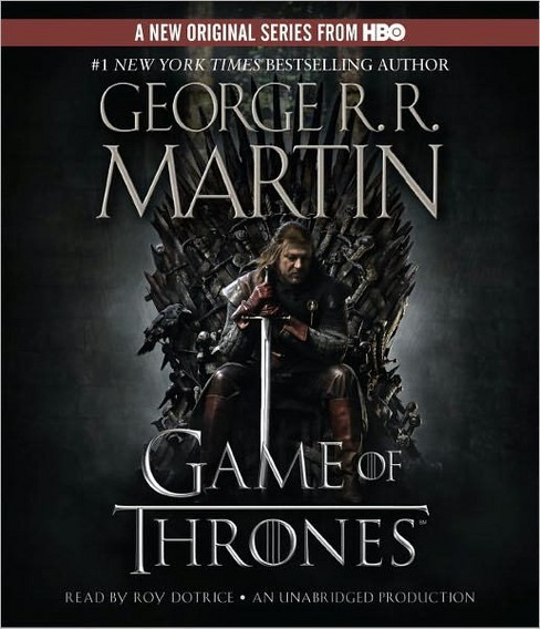 Game of Thrones (Unabridged) (CD/Spoken Word) (George R. R. Martin) - image 1 of 1