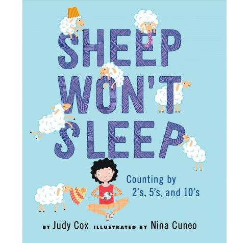 Sheep Won't Sleep -  by Judy Cox (School And Library) - image 1 of 1
