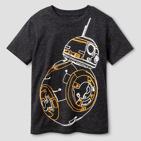 Boys' Star Wars Shaky Line T-Shirt - Charcoal Heather - image 1 of 1