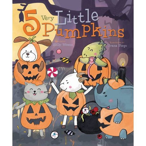 5 Very Little Pumpkins - (Flowerpot Holiday) by  Holly Weane (Board_book) - image 1 of 1