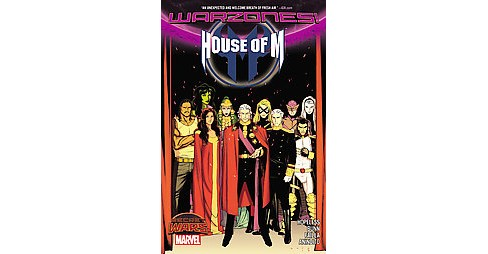House of M : Warzones! (Paperback) (Dennis Hopeless & Cullen Bunn) - image 1 of 1