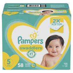 Pampers Swaddlers Diapers Super Pack (Select Size)