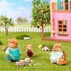 Li'l Woodzeez Miniature Animal Figurine Set - Bushytail Squirrel Family - image 2 of 3