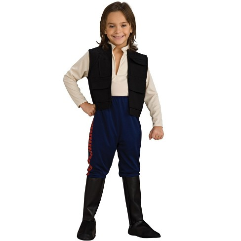 Star Wars Boys' Deluxe Han Solo Halloween Costume - Rubie's - image 1 of 1
