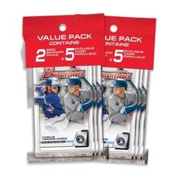 2020 Topps MLB Bowman Baseball Trading Card Value Pack Bundle of 2