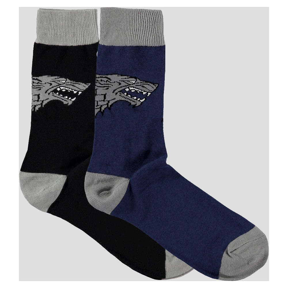 Imn Socks Adult Male Casual Socks Game of Thrones Game of Thrones Multi-colored One Size, Men's