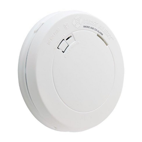 Battery Operated Smoke and Carbon Monoxide Alarm BRK PRC700 White - First  Alert