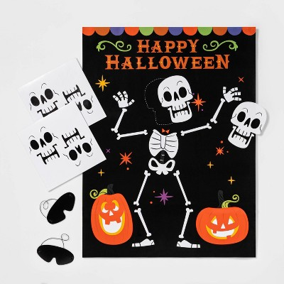 Pin the Skeleton Game Halloween Party Kit - Hyde & EEK! Boutique™
