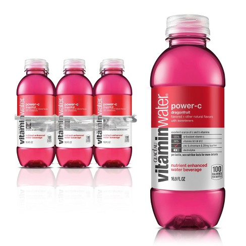 vitaminwater power-c dragonfruit - 6pk/16.9 fl oz Bottles - image 1 of 3