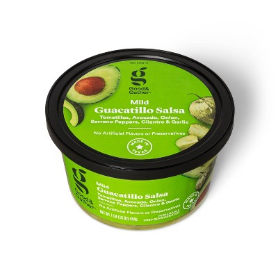 Guacatillo Salsa - Mild Heat - 16oz - Good & Gather™