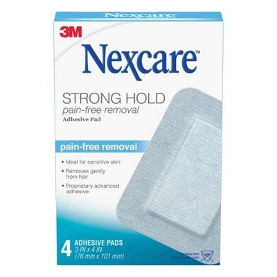 Bandages & Gauze: Nexcare Sensitive Skin Adhesive Pads