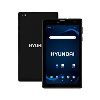 """Hyundai HyTab 7LC1, 7"""" Android Tablet, 1GB RAM, 32GB Storage, Quad-Core Processor, 7"""" IPS Display, Android 10 Go Edition, Dual Camera, 4G LTE, WiFi, P"""