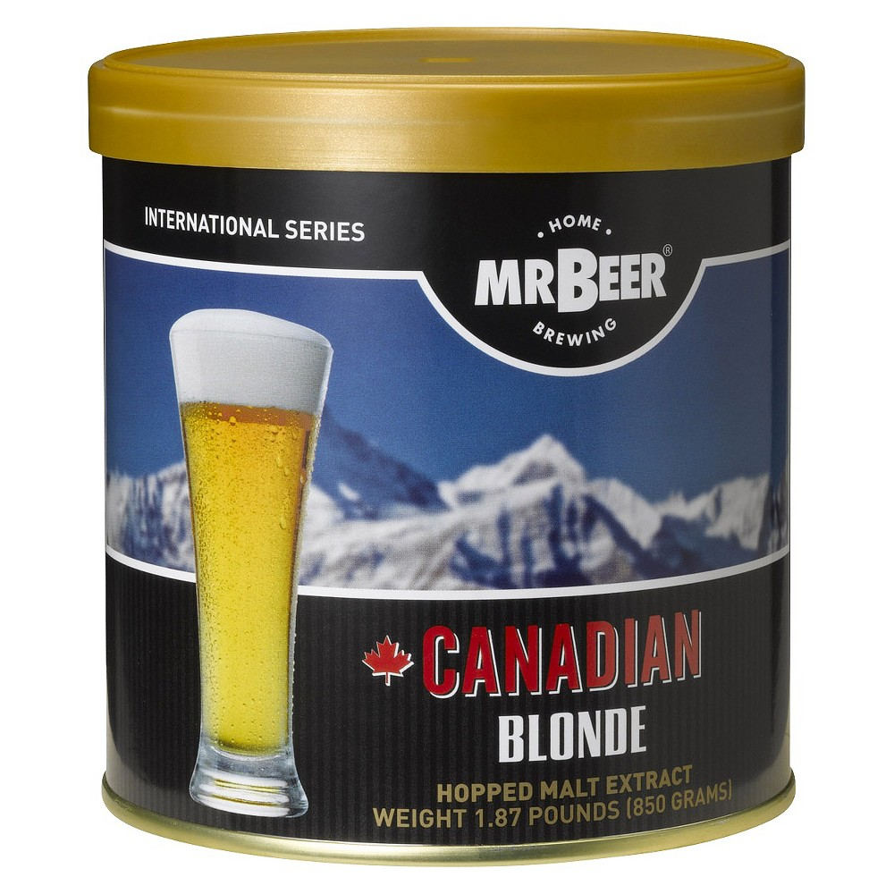 Image of Mr. Beer Canadian Blonde, Home Brewing Kits