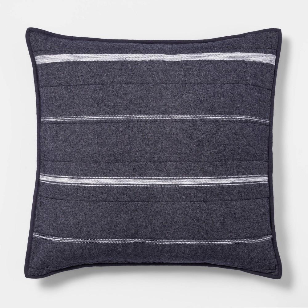 Best Textured Stripe Flannel Quilt Sham  - Threshold™
