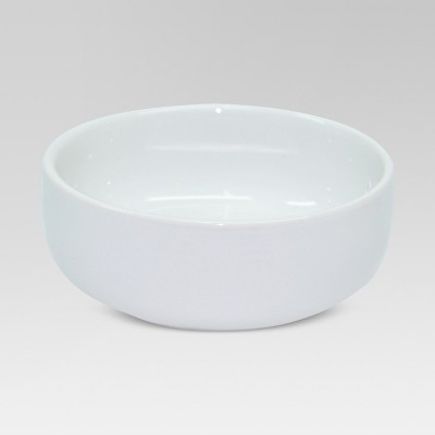 3oz Porcelain Dip Bowl White - Threshold™