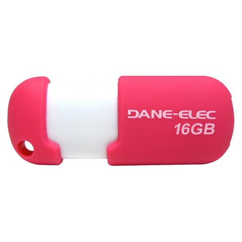 Dane-Elec 16GB USB Flash Drive w/Cloud - Pink/White (DA-Z16GCN5DB-C) - image 1 of 1