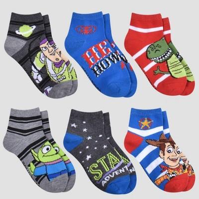 Boys' Disney Toy Story 6pk Ankle Socks
