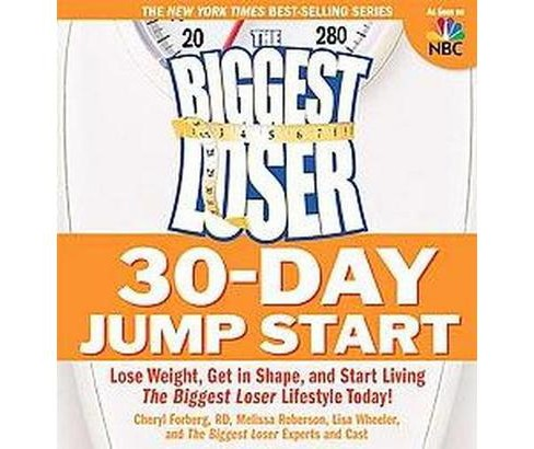 The Biggest Loser 30-day Jump Start (Paperback) by Cheryl Forgerg - image 1 of 1