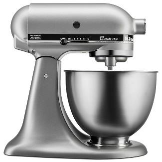 KitchenAid Classic Plus 4.5qt Stand Mixer - Silver KSM75